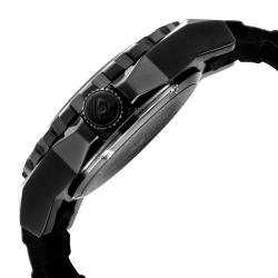 Swiss Legend Men's 'Expedition' Black Silicon Watch