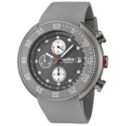 Red Line Men's 'Driver' Grey Chorongraph Watch