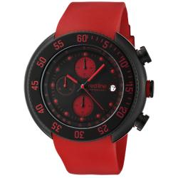Red Line Men's 'Driver' Red Chronograph Watch