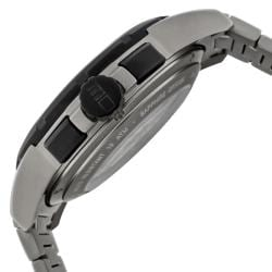 Momo Design Men's 'Pilot XL' Grey Ion-Plated Stainless Steel Watch