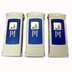 HP 91 Yellow Ink Cartridge (Remanufactured) (Pack of 3)