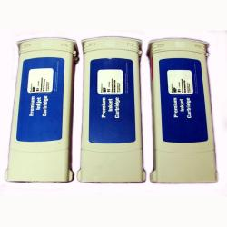 HP 91 Matte Black Ink Cartridge (Pack of 3) (Remanufactured)