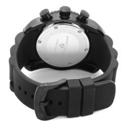Swiss Legend Men's 'Commander' Black Silicon Watch