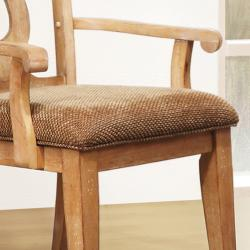 Provence Key Hole Back Arm Chair (Set of 2)