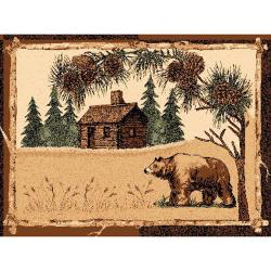 House & Bear Area Rug (5'x7)