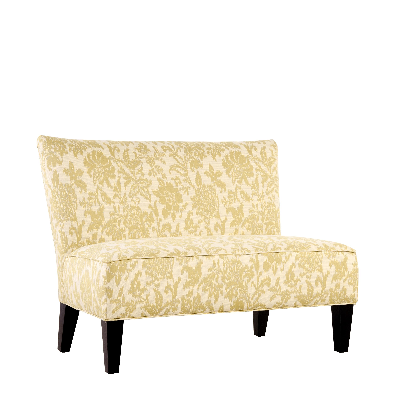 Portfolio Hali Lemongrass Yellow Floral Armless Settee 14045184 Shopping