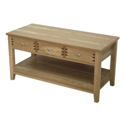 Ashton Coffee Table with 3 Drawers