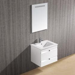 Vigo 24-inch Ethereal-Duece Single Bathroom Vanity with Mirror