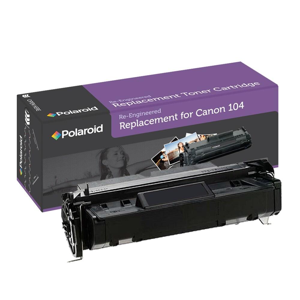 Canon 104 Black Toner Cartridge by Polaroid (Remanufactured)