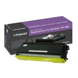 Brother TN580 Black Toner Cartridge by Polaroid (Remanufactured)