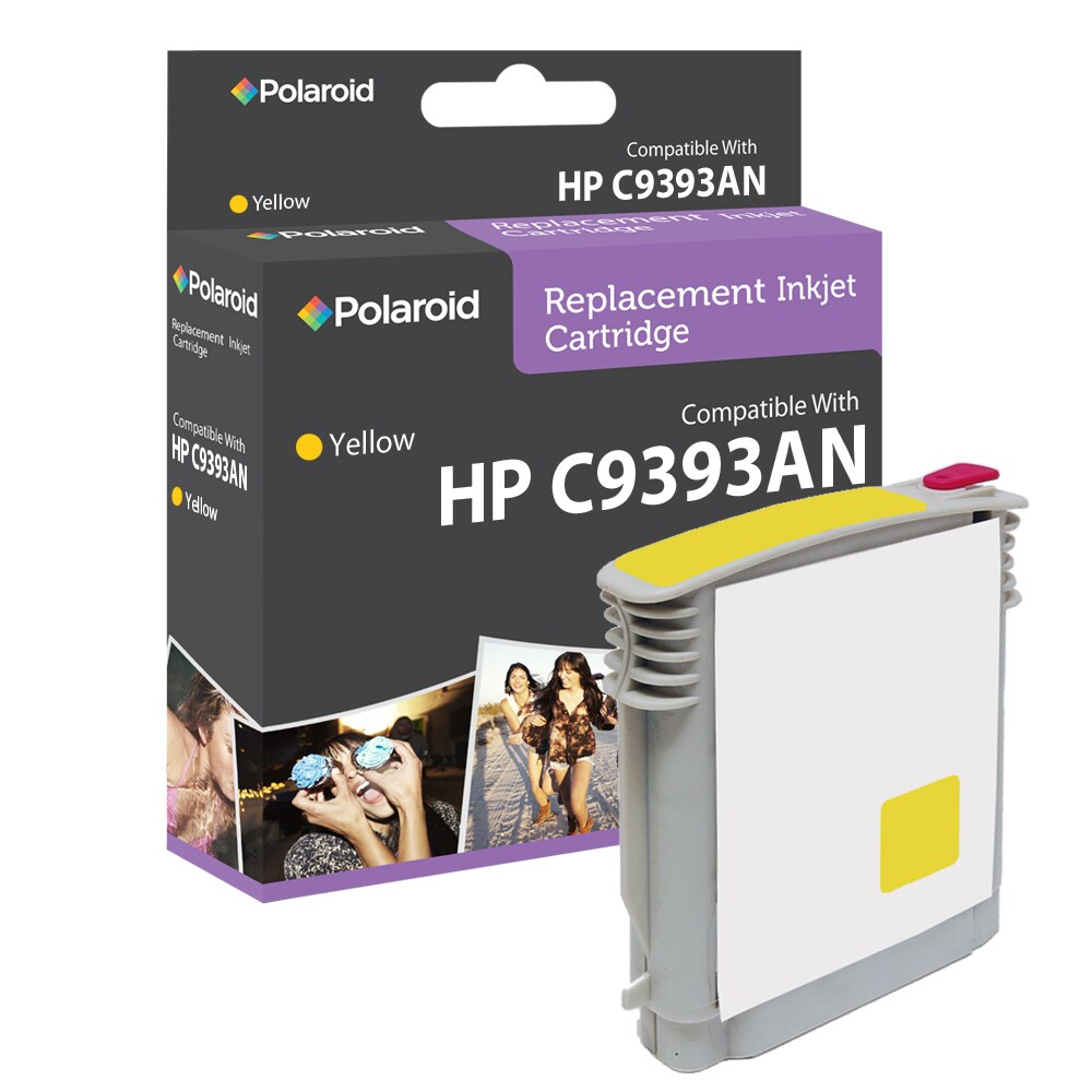 HP 88 Yellow Ink Cartridge by Polaroid (Remanufactured)