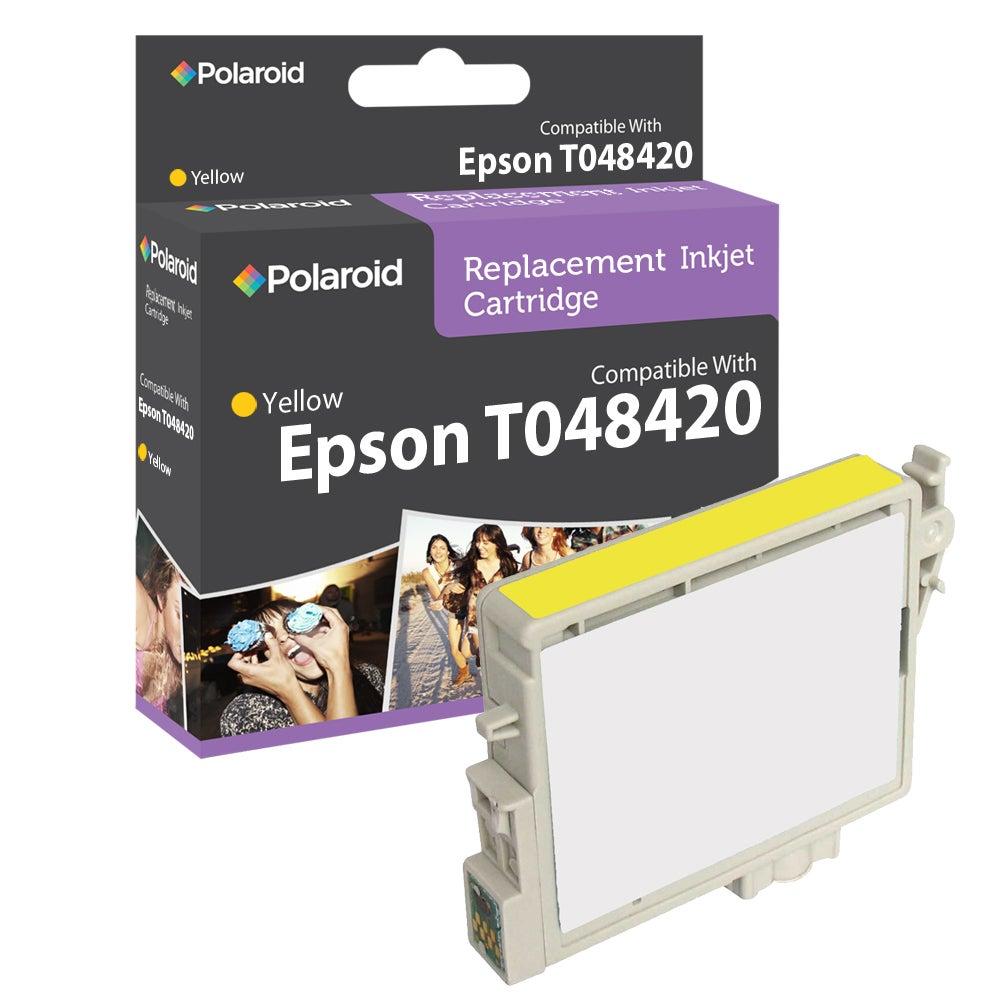 Epson T0484 Yellow Ink Cartridge by Polaroid (Refurbished)