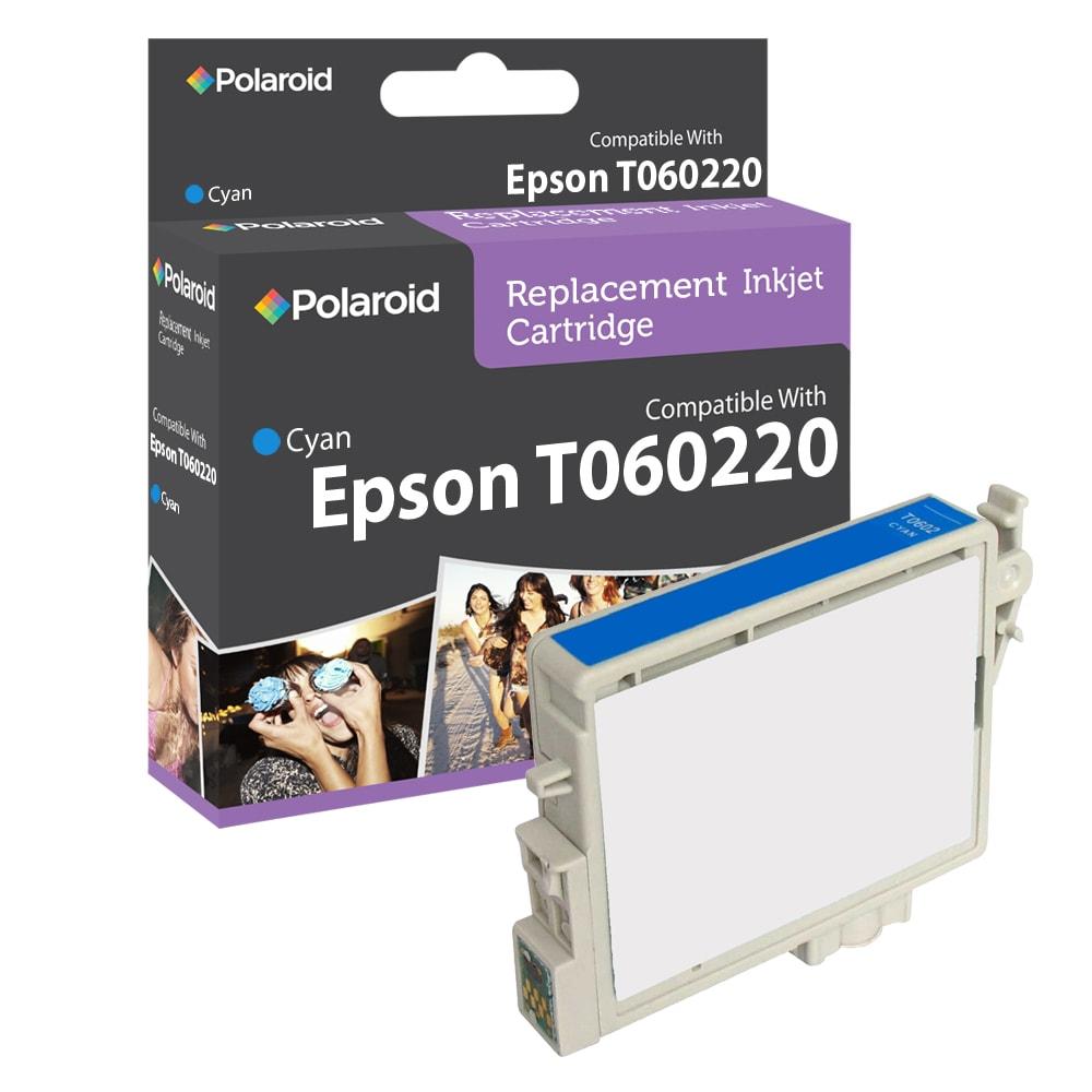 Epson T0602 Cyan Ink Cartridge by Polaroid (Refurbished)