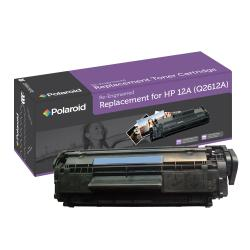 HP 12A Black Toner Cartridge by Polaroid (Remanufactured)