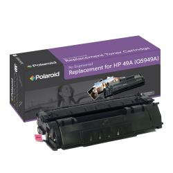 HP 49A Black Toner Cartridge by Polaroid (Remanufactured)