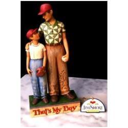 Jim Shore Father and Son Figurine