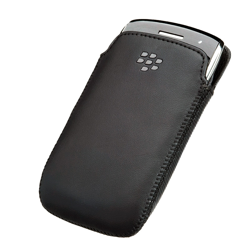 BlackBerry 9350/ 9360/ 9370 OEM Leather Pocket Case HDW-39397-001
