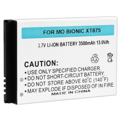 Extended Li-ion Battery/ Cover for Morotola Droid Bionic XT875