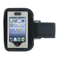 Silver Case/ LCD Protector/ Headset/ Wrap/ Armband for Apple iPhone 4S