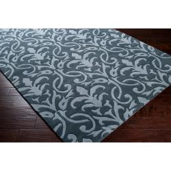 Hand-tufted Oasis Wool Rug (8' x 11')