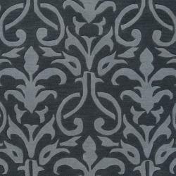 Hand-tufted Oasis Wool Rug (8' x 11')