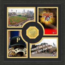Highland Mint Pittsburgh Pirates 'Fan Memories' Minted Coin Photo Frame