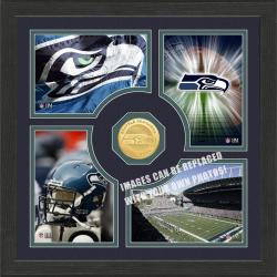 Highland Mint Seattle Seahawks 'Fan Memories' Minted Coin Photo Frame
