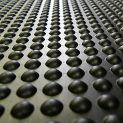 Rubber Bubble-Top Anti-Fatigue Floor Mat