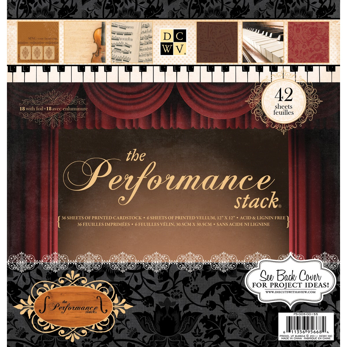 Die Cuts with a View 'Performance' Paper Stack (Pack of 42 sheets)
