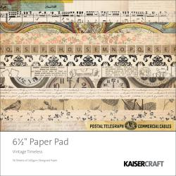 Kaisercraft 'Vintage Timeless' Square Paper Pad