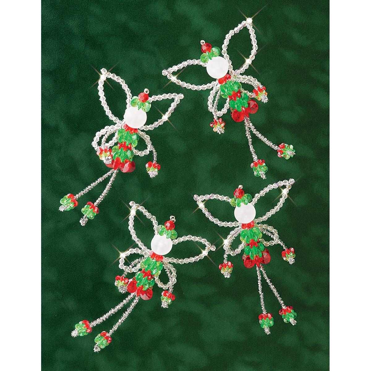 Christmas Fairies Holiday Beaded Ornament Kit