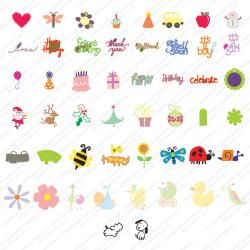 Provo Craft Cricut Shape 'Best Of 2006 Images' Cartridge