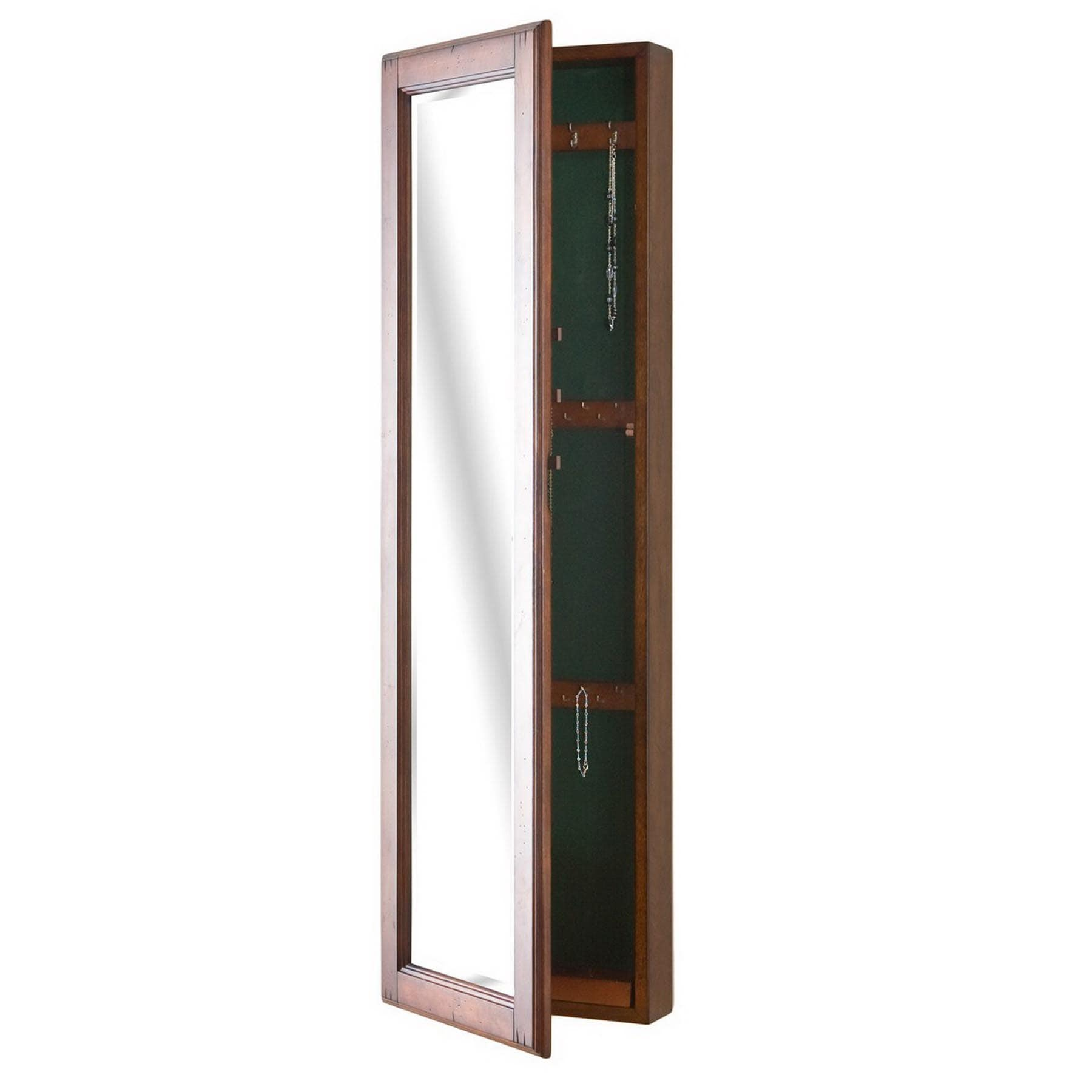 Dalton Home Collection Wall-Mounted Jewelry Armoire