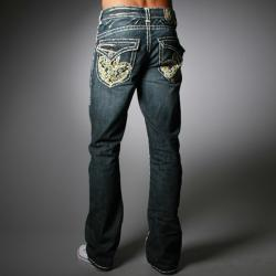 Laguna Beach Jean Company Men's Double-stitched 'Redondo Beach' Denim Jeans