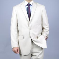 Men's Bone 2-Button Suit