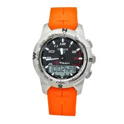 Tissot Men's T0474204720701 T-Touch Orange Watch