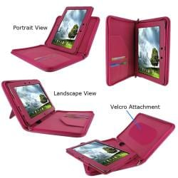 rooCASE Asus Transformer PRIME TF201 Executive Portfolio Leather Case Cover