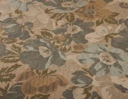 nuLOOM Handmade Bold Floral New Zealand Wool Rug (7'6 x 9'6)