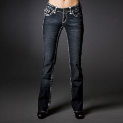 Laguna Beach Jean Company Women's Vintage Wash Denim Jeans