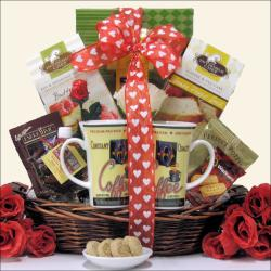 'Breakfast For Two: Valentine's Day' Gift Basket