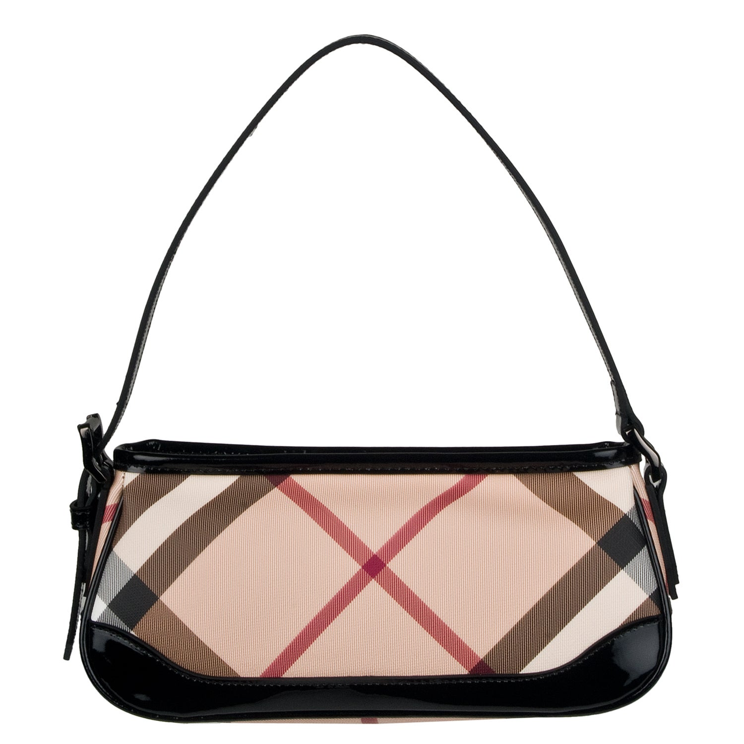 Cool Burberry Prorsum Embellished Check Sling Shoulder Bag  Handbags