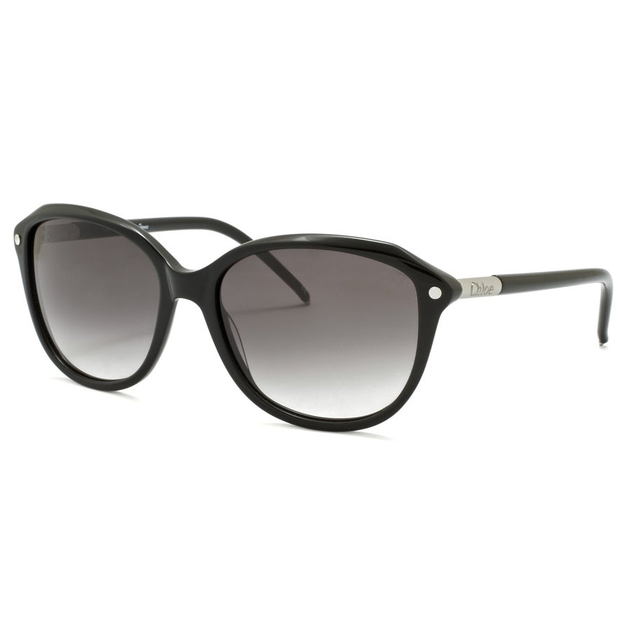 Chloe Women's Black/ Grey Gradient Fashion Sunglasses
