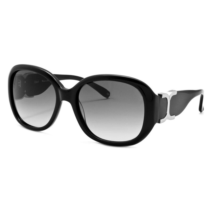Chloe Women's 'Marcie' Black Fashion Sunglasses