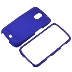 Blue Snap-on Rubber Coated Case for Samsung Galaxy Nexus i515