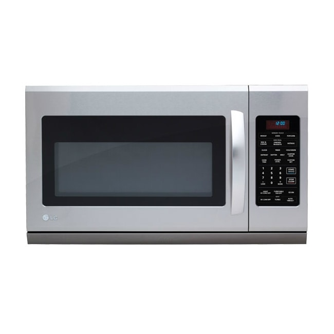 Overstock.com LG Stainless Steel Over-the-Range 1,100 Watt Microwave Oven at Sears.com