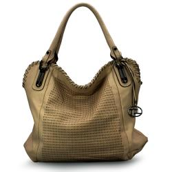 La Terre Fashion Perforated Shoulder Bag