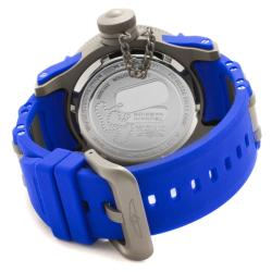Invicta Men's 'Tsunami Warrior' Blue Rubber Watch