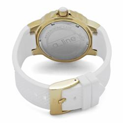 a_line Women's 'Marina' White Silicon Watch