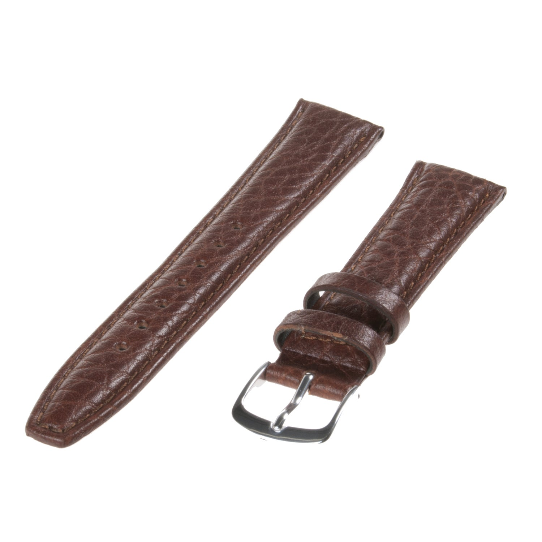 Republic Men's Tan Shrunken Grain Leather Watch Strap