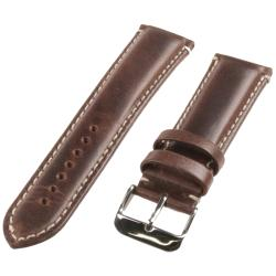 Republic Men's Brown Oil Tan Leather Watch Strap